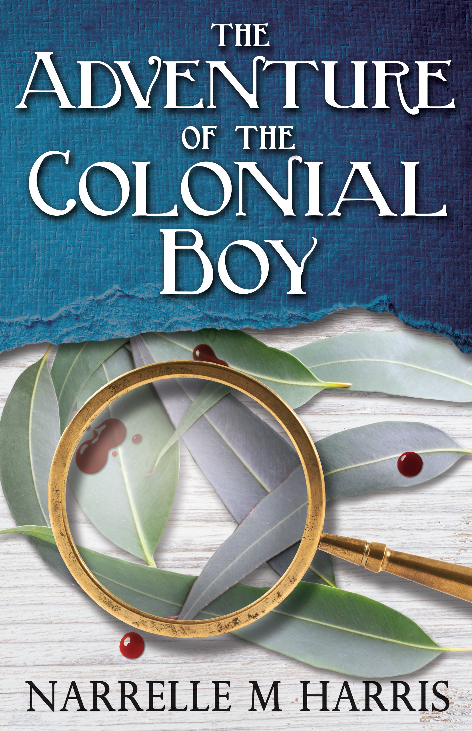The Adventure of the Colonial Boy: Signed book