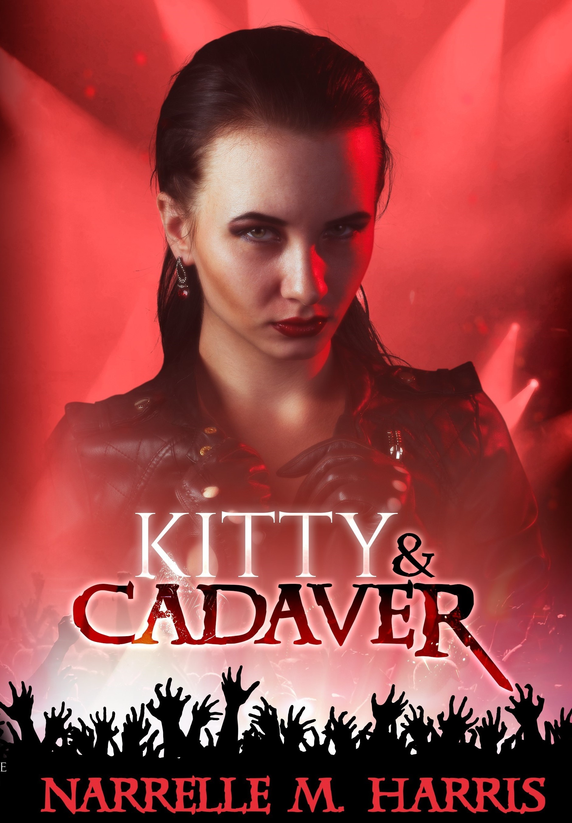 Kitty and Cadaver: Signed Book