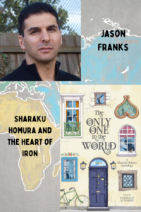 Only One in the World cover with author photo of Jason Franks.