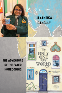Cover of Only One in the World and a picture of Jay Ganguly.