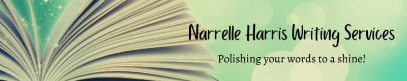 Narrelle Harris Writing Services: Polishing Your Words to a Shine banner image